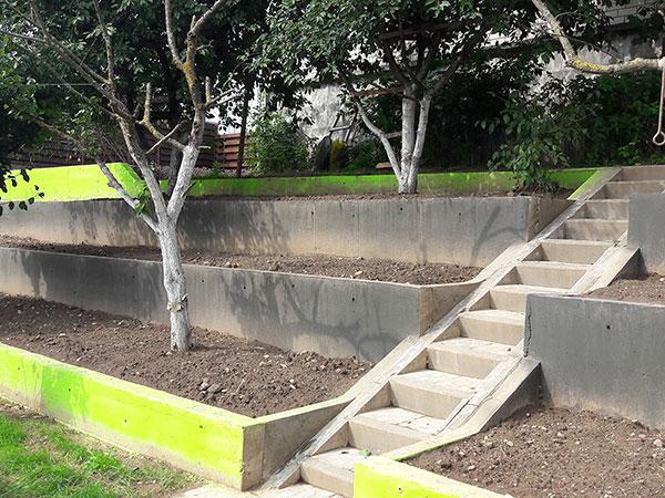 Купить подпорную стенку из бетона бетон в светлограде
