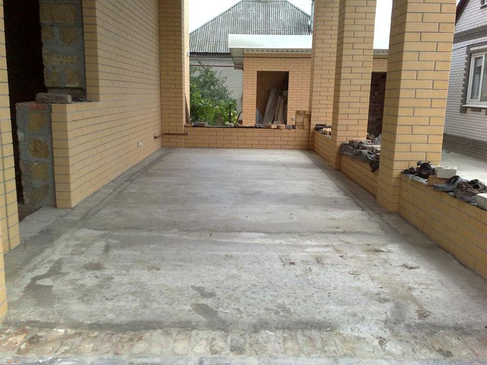 Террас бетоне бетон красноармейское